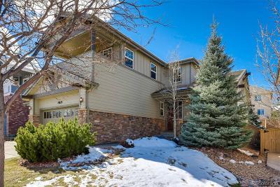 Highlands Ranch CO Single Family Home Active: $600,000