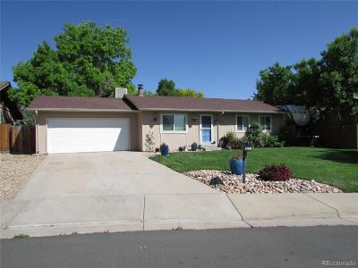Broomfield Single Family Home Active: 3221 West 133rd Circle