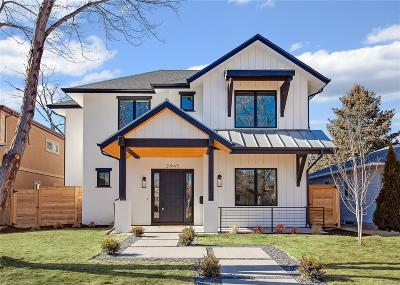 Denver Single Family Home Active: 2445 South Madison Street