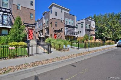 Denver Condo/Townhouse Active: 1331 Jackson Street