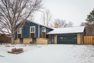 Littleton Single Family Home Under Contract: 6895 South Webster Street