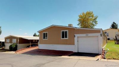 Adams County Single Family Home Active: 9850 Federal Boulevard #324