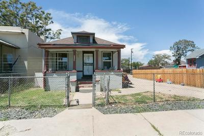 Denver Residential Lots & Land Active: 4665 Vine Street