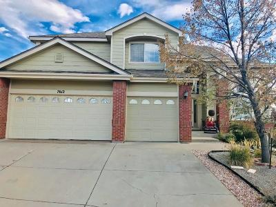 Littleton Single Family Home Under Contract: 7612 Coyote Place