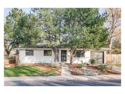 Boulder Single Family Home Under Contract: 154 South 35th Street