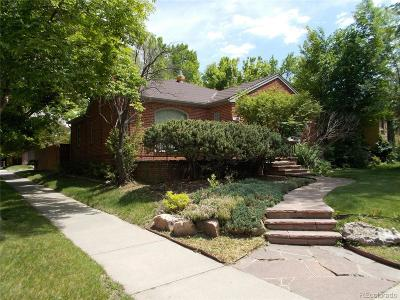 Denver Single Family Home Active: 1388 Fairfax Street