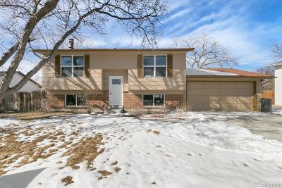 Arvada Single Family Home Active: 8441 Gray Street