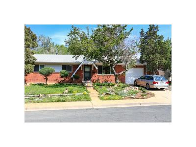 Boulder Single Family Home Under Contract: 3957 Fuller Court