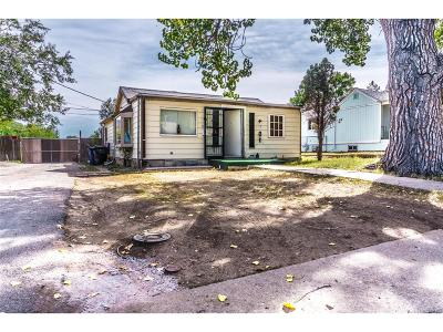 Denver Single Family Home Under Contract: 922 South Vrain Street