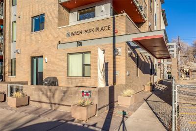 Denver Condo/Townhouse Active: 360 South Lafayette Street #102