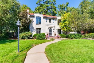 Denver Single Family Home Under Contract: 2301 Leyden Street