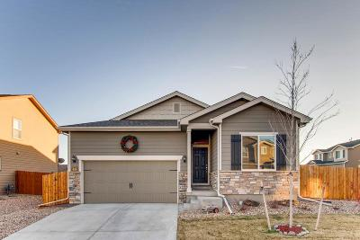 Lochbuie Single Family Home Under Contract: 434 Xavier Drive