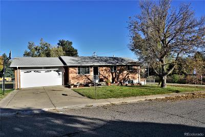 Arvada Single Family Home Active: 7866 Marshall Street