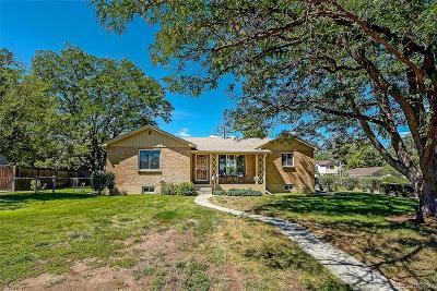 Wheat Ridge Single Family Home Under Contract: 4095 Pierce Street