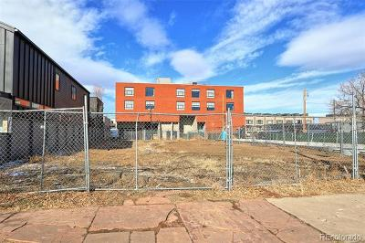 Denver Residential Lots & Land Active: 2401-2451 Lawrence Street