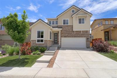 Parker Single Family Home Under Contract: 13788 Pastel Lane