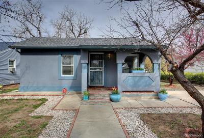 Denver CO Single Family Home Active: $335,000