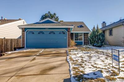 Aurora Single Family Home Under Contract: 17640 East Bethany Drive