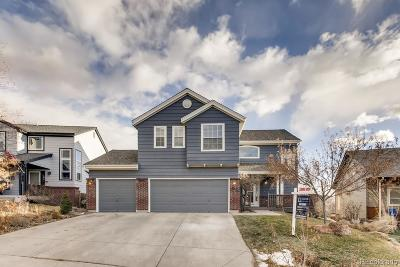 Castle Rock Single Family Home Under Contract: 2116 Shiloh Drive