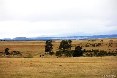 Elbert County Residential Lots & Land Active: 29555 County Road 99