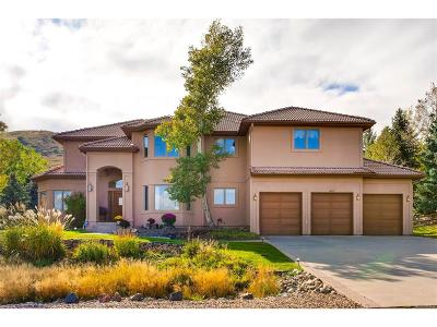 Morrison Single Family Home Under Contract: 16119 Mountain Bluebird Way