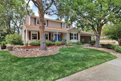 Centennial Single Family Home Under Contract: 7455 South Washington Circle