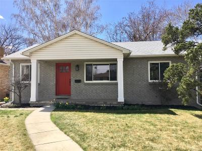 Denver Single Family Home Active: 1065 South Jackson Street