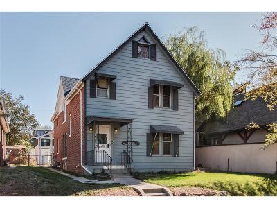 Denver Multi Family Home Active: 1920 South Washington Street