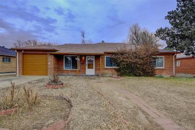 Aurora, Denver Single Family Home Under Contract: 894 Quari Court