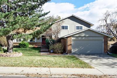 Littleton Single Family Home Active: 6287 West Nova Drive