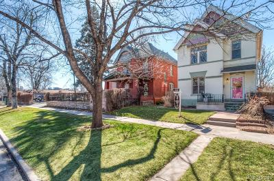 Denver Single Family Home Active: 3042 West 24th Avenue