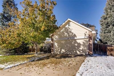 Centennial Single Family Home Active: 4759 South Genoa Court