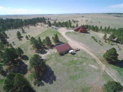 Kiowa Single Family Home Under Contract: 12221 County Road 118