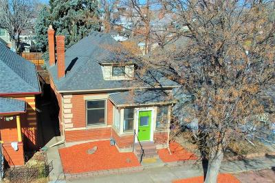Denver Single Family Home Active: 309 East Bayaud Avenue