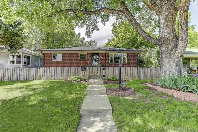 Denver Single Family Home Active: 1171 Willow Street