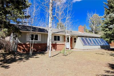 Woodland Park Single Family Home Under Contract: 858 Teller Lane