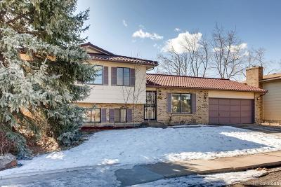Littleton Single Family Home Active: 8944 West Stetson Place