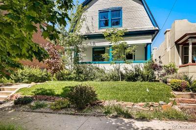 Denver Single Family Home Active: 535 North Pennsylvania Street
