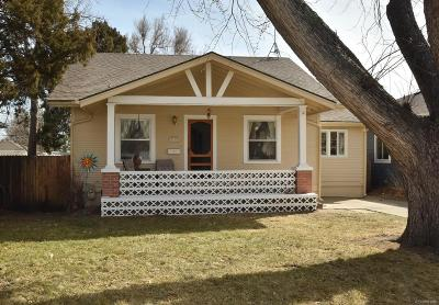 Arvada Single Family Home Under Contract: 5718 Allison Street