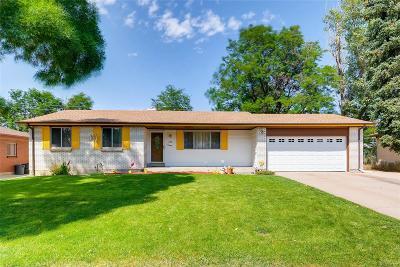 Aurora Single Family Home Active: 355 South Nile Street