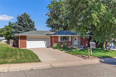 Arvada Single Family Home Active: 7122 Marshall Street