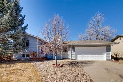 Broomfield Single Family Home Under Contract: 13457 Bryant Way