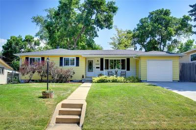 Denver Single Family Home Active: 4560 East Wyoming Place