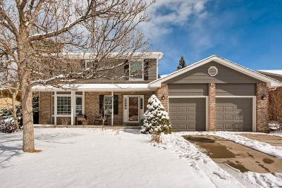 Centennial Single Family Home Under Contract: 8124 South Harrison Circle