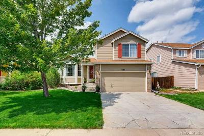 Centennial Single Family Home Under Contract: 5285 South Jericho Way