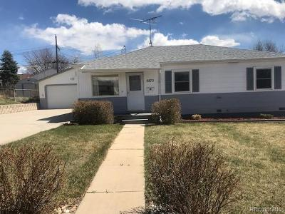 Thornton Single Family Home Under Contract: 8870 Hoyt Drive