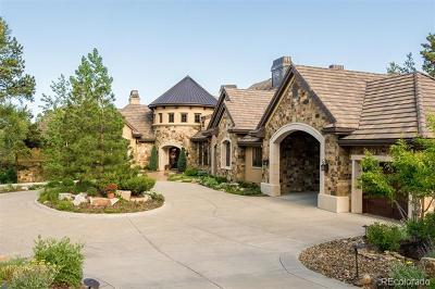 Castle Rock CO Single Family Home Active: $4,900,000