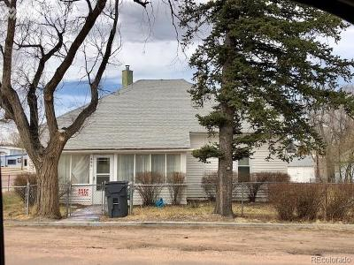 Calhan Single Family Home Under Contract: 495 Golden Street