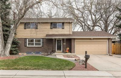 Littleton Single Family Home Active: 1455 West Hinsdale Drive