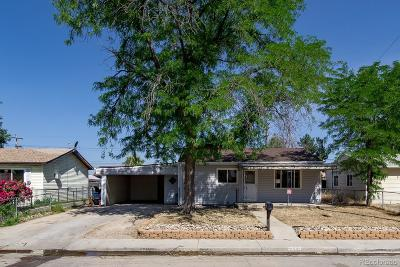 Commerce City Single Family Home Under Contract: 7671 Kearney Drive